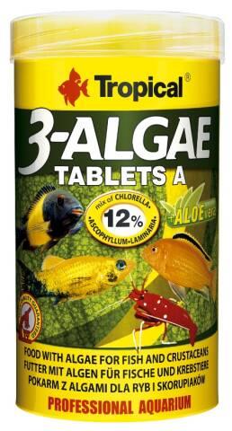 Tropical 3-Algae Tablets A 50ml