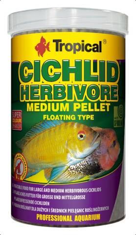 Tropical Cichlid Herbivore M 500ml