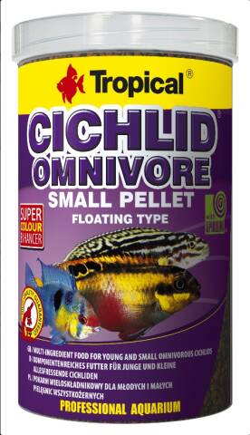 Tropical Cichlid Omnivore S 250ml