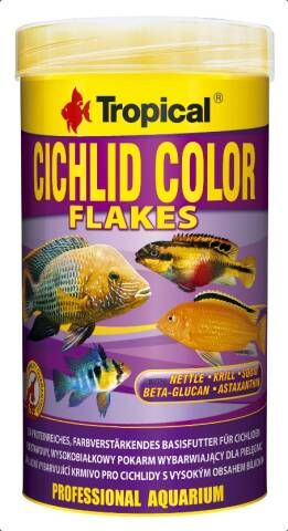 Tropical Cichlid Color Flakes 1L