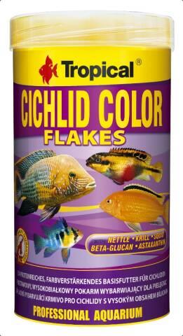 Tropical Cichlid Color Flakes 1L