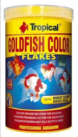Tropical Goldfish Color Flakes 1L