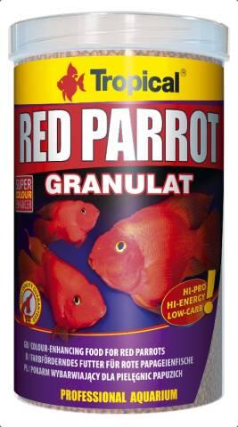 Tropical Red Parrot Granulat 1L
