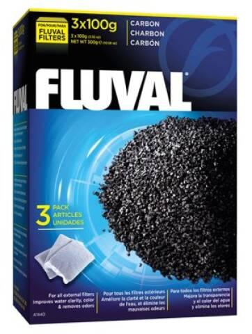 Fluval Carbon 3x100g