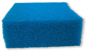 Blå filtermatte 5x100x100cm