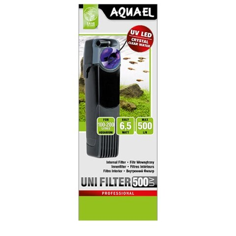 Aquael UNI filter UV 500