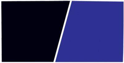Svart - Blå 61cm